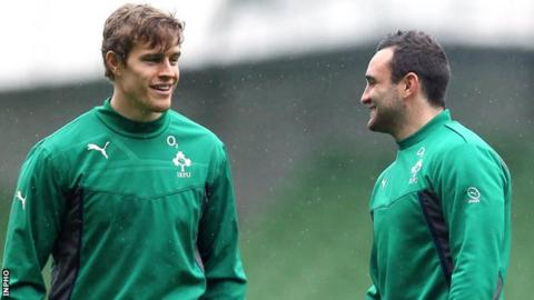 Andrew Trimble and Dave Kearney