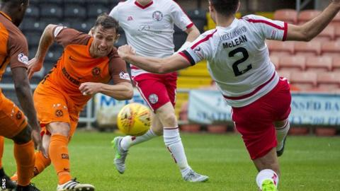 Scott McDonald scores for Dundee United
