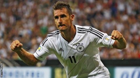 Miroslav Klose scored