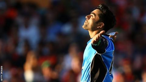 Celebrities Going Gaga Over Rashid Khan - Political News