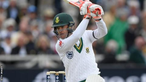 Heino Kuhn in action for South Africa