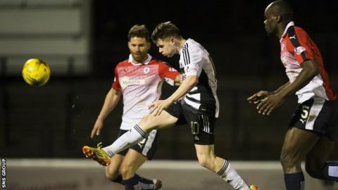 Ayr United need to win by five goals at Stark's Park to avoid finishing last