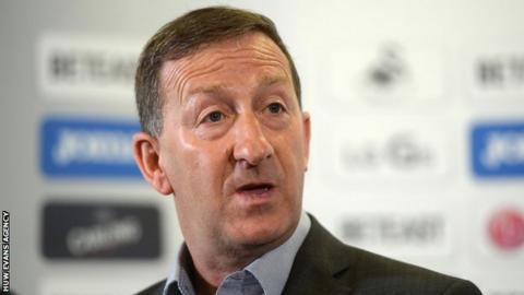 Huw Jenkins, chairman of Swansea City