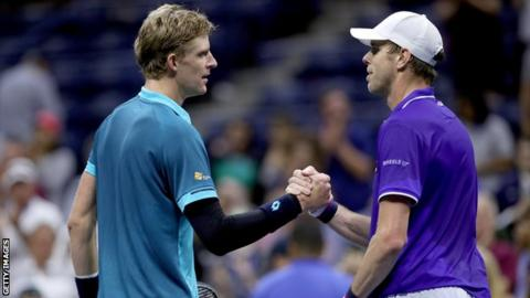 Kevin Anderson and Sam Querrey