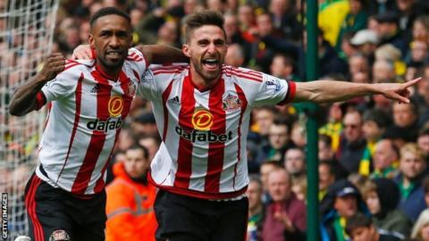 Jermain Defore and Fabio Borini