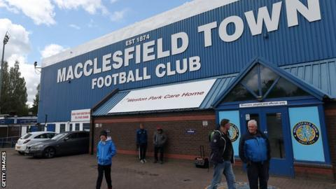 Macclesfield Town are currently 15th in League Two after 15 games played