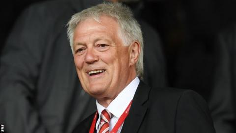 Aberdeen director Duncan Skinner