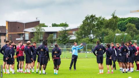Hearts returned to training last week
