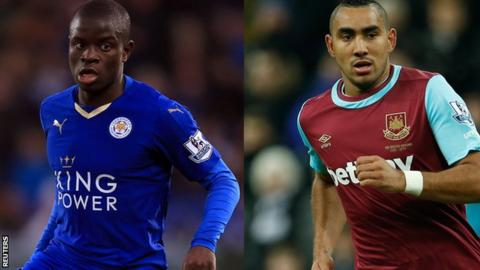 France call up Kante and Payet