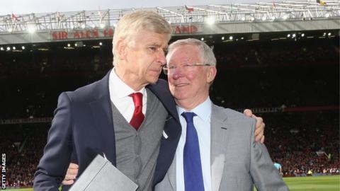 Arsene Wenger and Sir Alex Ferguson