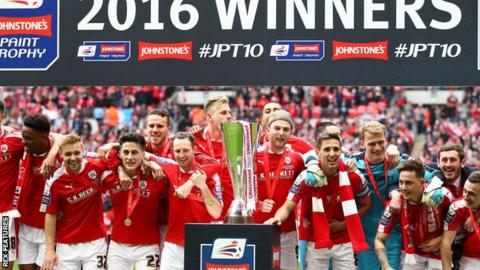 Premier league academy teams to be added to efl trophy bbc sport - Bbc football league 1 table ...