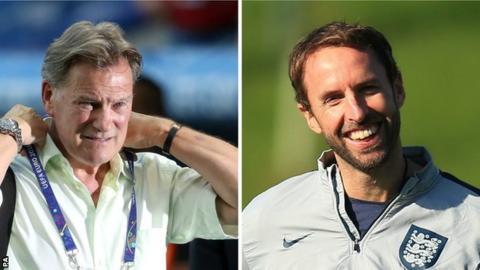 Glenn Hoddle and Gareth Southgate