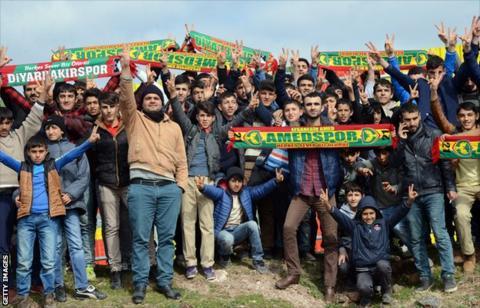 Amedspor supporters