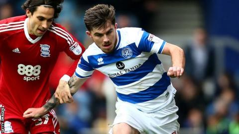 Ryan Manning in action for QPR