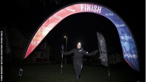 Ultra runner Jasmin Paris
