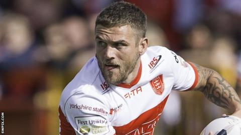 Hull KR full-back Ben Cockayne