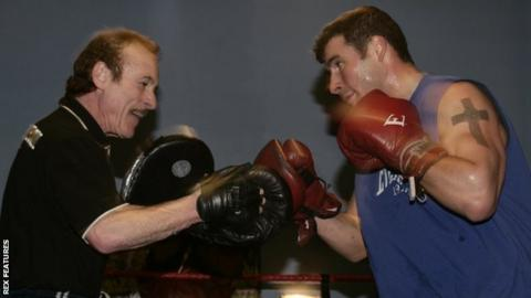 Joe Calzaghe: Former world champion eyes trainer or manager role