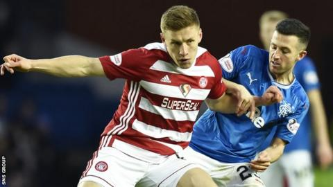 Greg Docherty: Rangers complete move for Hamilton midfielder