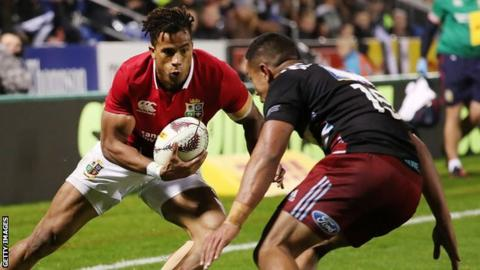 5721282df4b British and Irish Lions beat Provincial Barbarians 13-7 in tour ...