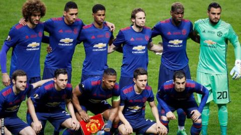 Manchester United beat Ajax to win the Europa League