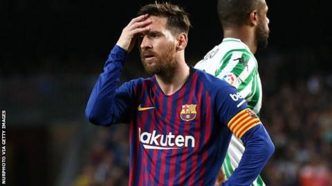 690da877405 Lionel Messi  Is Barcelona forward really cut out for captaincy ...