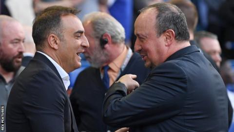 New Swansea boss Carlos Carvalhal has got the better of Newcastle manager Rafael Benitez in recent meetings