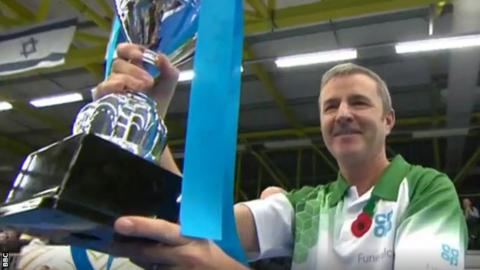 David Gourlay with the Scottish International Open title