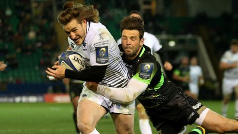 Ospreys beat Northampton