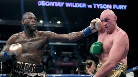Deontay Wilder fights Tyson Fury