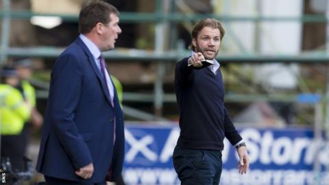 Tommy Wright (left) and Robbie Neilson