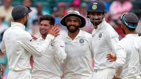 Team India's victory dance after historic Test series win in Australia