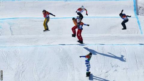 Italy's Michela Moioli Wins Gold In Women's Snowboard Cross