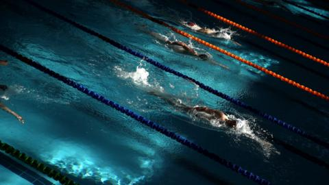 AUCKLAND, NEW ZEALAND - JULY 06: Danyon Hardie competes in the Mens 1500 meter freestyle during the New Zealand Open Swimming Championships at the Sir Owen Glenn National Aquatic Centre on July 6, 2018 in Auckland, New Zealand. (Photo by Phil Walter/Getty Images)