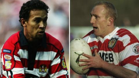 Adrian Lam and Shaun Edwards