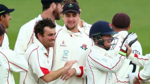 Stephen Parry's only previous five-wicket haul for Lancashire was on his debut against Durham UCCE in 2007