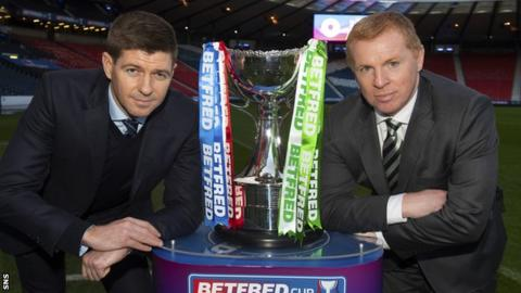League Cup final: Rangers v Celtic