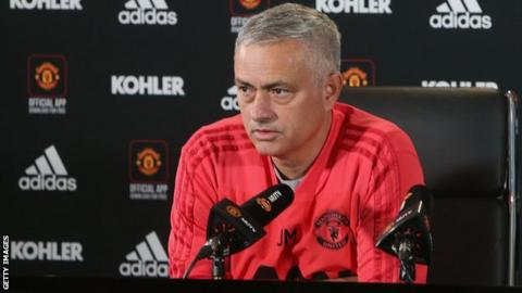 Jose Mourinho claims there is a 'manhunt' against him and his team