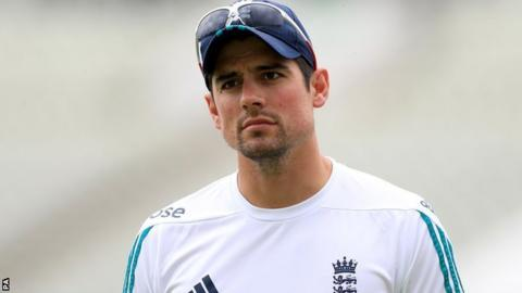 Alastair Cook England Captain To Meet Andrew Strauss On