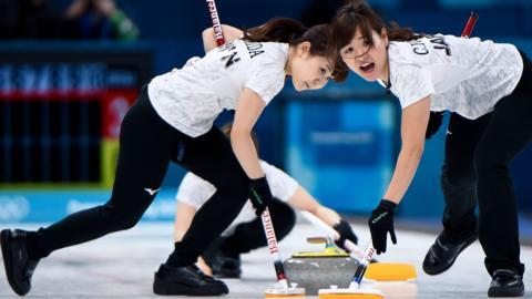 Japan's women's curling team