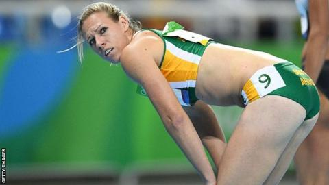 Carina Horn: South African sprinter tests positive for banned substance