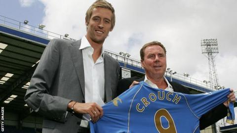 science Harry Redknapp and Peter Crouch