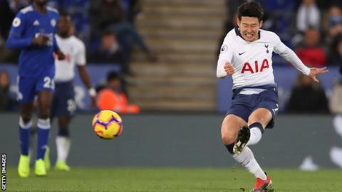 Son Heung Min Scored A Superb Opener For Spurs And Now Has Three Goals In His Last Four Games