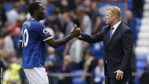 Lukaku and Koeman