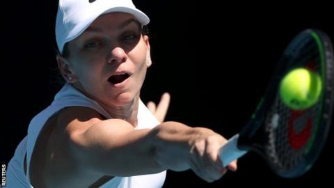 Halep cruises past Kontaveit to set up Australian Open semi with Muguruza