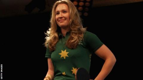 Melissa Tapper, Australian table tennis player