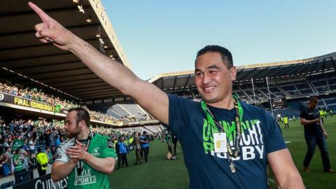 Pat Lam guided Connacht to Pro12 title success last season