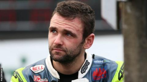 During a training run killed a famous British motorcycle racer