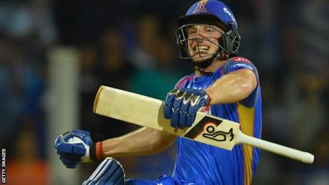 IPL: Buttler leads Rajasthan to exciting victory class=
