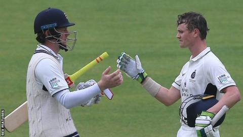 Sam Robson (left) and Nick Gubbins (right)