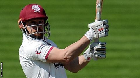 Somerset batsman James Hildreth